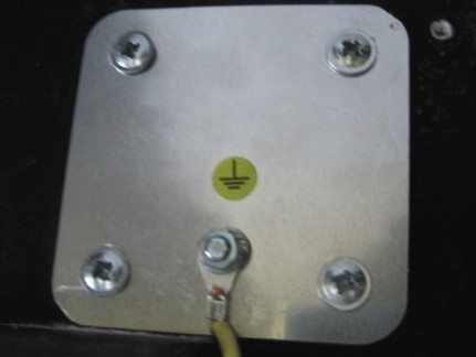 EMF Mitigation - grounding plate
