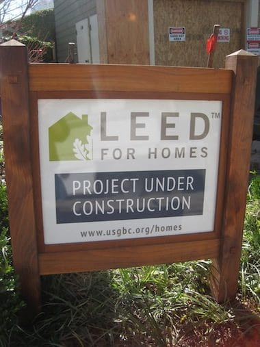 LEED for Homes Under Construction - Piedmont
