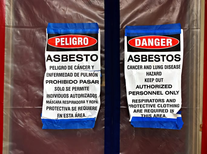 Asbestos indoor air quality